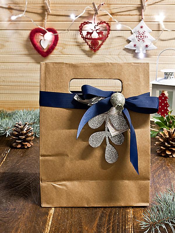Il Poggio del Picchio - confezioni regalo natalizie busta colazione per 2 marmellata artigianale