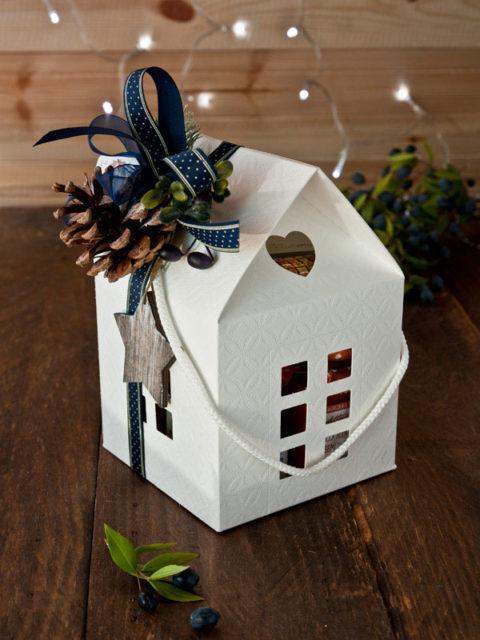 confezione regalo natale 2017 casetta golosa
