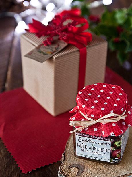 Il Poggio del Picchio – confezione regalo Natale 2017 scatola cartone quadrata