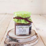 Confettura artigianale extra di fichi neri alla vaniglia Il Poggio del Picchio