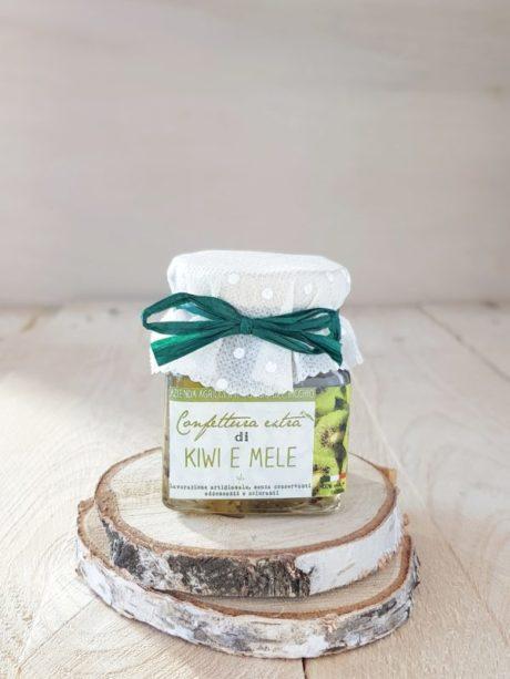 Confettura artigianale extra di kiwi e mele | il poggio del picchio